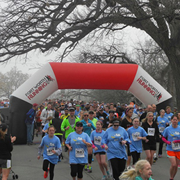 2014 Choose Life 5k in Fort Worth